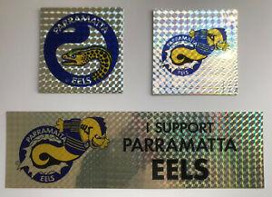1990's PARRAMATTA EELS 8 Stickers