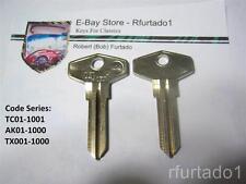 Key Blank for Vintage Ford Capri ignition - Jaguar XJS door   (FC2)