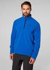 2017 Helly Hansen Mens Daybreaker 1/2 Zip Fleece Olympian Blue 50844 Medium