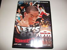 DVD UNCUT HK Action 2011 LET'S GO FIGHT FOR LIFE Juno Mak & Ken Lo & Wang Yu