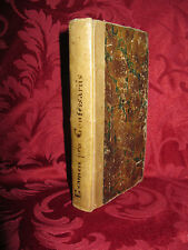 Libro Antico Examen Pro Parochis Confessione Manoscritto Diocesi Livorno 1823