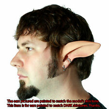 Faun/Satyr Ears Costume - Latex Painted Dark Elf Ears