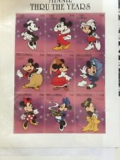 Minnie Thru The Years Postage Stamps