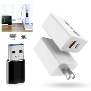 18W USB Type-C Wall Fast Charger PD Power Adapter For iPhone 13 12 Pro Max iPad