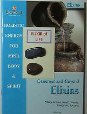 """""""élixir de vie"""" - comprend 2 spéciales pierres précieuses & 2 grand guide des livres sur gemmes."""