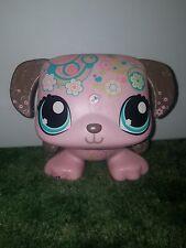 Littlest Pet Shop Pink Dog Puppy Barking Music Audio Speaker Dance Hasbro 2009