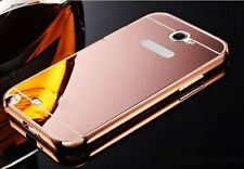 ROSE GOLD Metal Mirror Case iPhone 4 5 6 7 Samsung Galaxy S5 S6 S7 Edge S8 Note