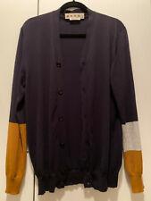 MARNI Men's Cardigan Sized 48 100% Cotton
