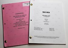 Mad Men * 2x DIFFERENT 2012 TV Script DRAFTS * Jon Hamm * Season 6, Episode 9