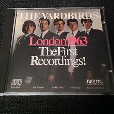 The Yardbirds-Londres 1963 First Recordings NEW RARE CD Japon Eric Clapton