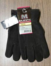 Mens XL Winter Split Deerskin Thinsulate Driving Gloves, Soft & Warm Great Gift!