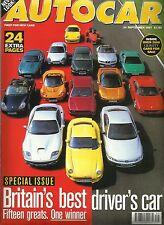 Autocar 24th September 1997, Best Driver's Car, Morgan, Cherokee, S70, Leganza