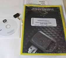JOHN DEERE ZTRAK Z900E Z900M Z900R OPERATOR'S MANUAL W/ SAFETY VIDEO & NEW KEY!