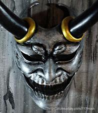 AIRSOFT MASK DEVIL SAMURAI DEMON COSTUME COSPLAY HANNYA ONI JAPANESE NOH DA52