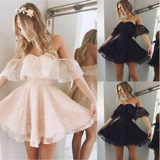 New Short Chiffon Evening Formal Party Ball Gown Prom Bridesmaid Dress Cocktail