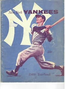 1960 New York Yankees Yearbook - Jay Publishing Co.
