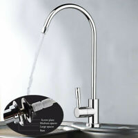 Bathroom Kitchen Faucet Water Tap Modern Style Chrome Non Air Gap Filter Sink