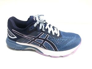 Asics, Women's GT 4000 2, Blue Purple Running Shoes, Size 6.5 Wide