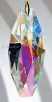 HUGE Prism 125mm x 45mm 5 inch Crystal Clear AB Spectacular SunCatcher