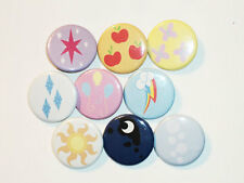 MLP - My Little Pony Button Pins - Lot #01 Cutie Marks Galore