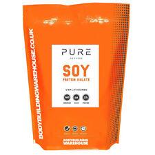 Bbw Pure Soja Isolat de Protéines 90% - 1kg Poudre - Alternative pour Petit Lait