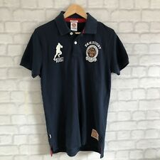 Franklin & Marshall 100% Authentic Men's Navy Blue Polo Shirt - Size L