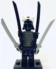 Lego Ninjago Minifigure Lord Garmadon 4 Arms 4 Weapons 9450 9446