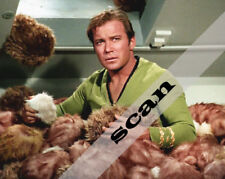 STAR TREK The Trouble with Tribbles CAPTAIN KIRK WILLIAM SHATNER 8x10 PHOTO 2396