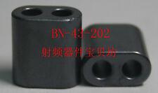 2PCS RF dual hole ferrite core: BN-43-202