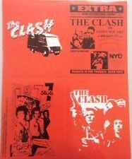 "The Clash Sticker Set of Four Brand New 4""x5"""
