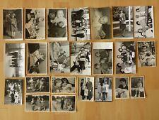 Konvolut Sammlung 23x altes Foto alte Fotos Menschen Kinder Mutter Vater ...