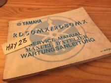 Yamaha RD50MX RD80MX RD 50 80 MX 5L1 5L2 5L3 5G0 5G1  Manuel technique atelier