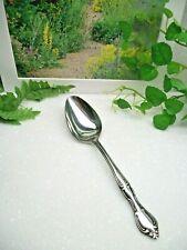 Vintage   HAMPTON COURT  Stainless Steel  Solid Serving Spoon  JAPAN