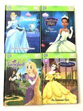 Lot of 4 Tag Leap Frog Hardcover Disney Princess Books