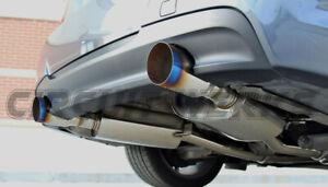 BMW 335i E90 E92 07-10 Twin Turbo N54 Full Catback Exhaust w/ BURNT TIPS