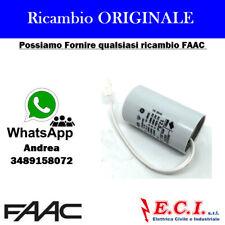 63002785 FAAC CONDENSATORE 12,5MF PER MOTORE 746