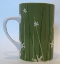 Retired Starbucks Ceramic Mug 2004 Asian Influence Green Wheat Grass Unusual