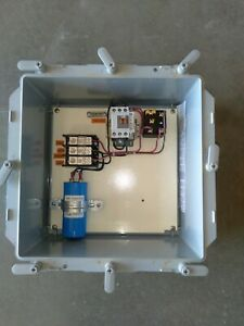 Static Phase Converter for 7 - 10 HP run 230VAC 3-phase motors with single phase