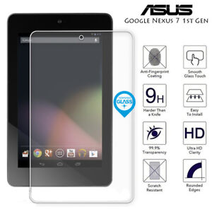 For Asus Google Nexus 7 1st Gen Tab Genuine Tempered Glass Screen Protector Film