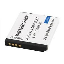 DMW-BCK7E 1000mAh For Panasonic DMC-S1 S3 FH2 FH5 FP5 FP7 Replacement Battery
