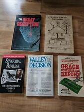 Lot Of 5 Vintage 1984-1988 Books