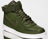 Nike Vandal High Supreme Leather Men's Green Casual Lifestyle Sneakers Shoes