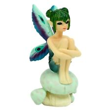 Fairpeeps Mini Peacock Fantasy Fairy Tale Garden Cute Figurine Home Decor Gift