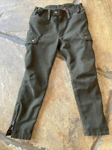 Percussion Shooting Trousers Lined Waterproof Kids Age 12