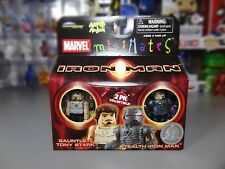 Marvel Minimates Toys R Us Series 01 Gauntlet Tony Stark / Stealth Iron Man