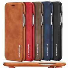 Cell Phone Case Ultra Thin Leather Flip Wallet Cover Cloth Protect Accessories