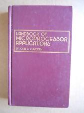 Handbook of Microprocessor Applications J. A. Kuecken 1st 1980 Tab Books[OGL]