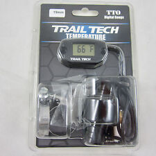 Trail Tech TTO Temperature Meter Digital Gauge 19mm In-Line Hose Sensor 742-EH1