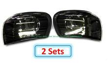 2 Sets (DHL) - for SUBARU IMPREZA GC8 CC8B 1995-2000 Corner Lights Lamps - Black
