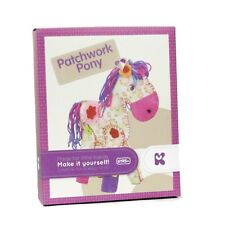 Make Your Own Pony Kit Patchwork Craft Keycraft AC117 Sew Stitch Beginners K45